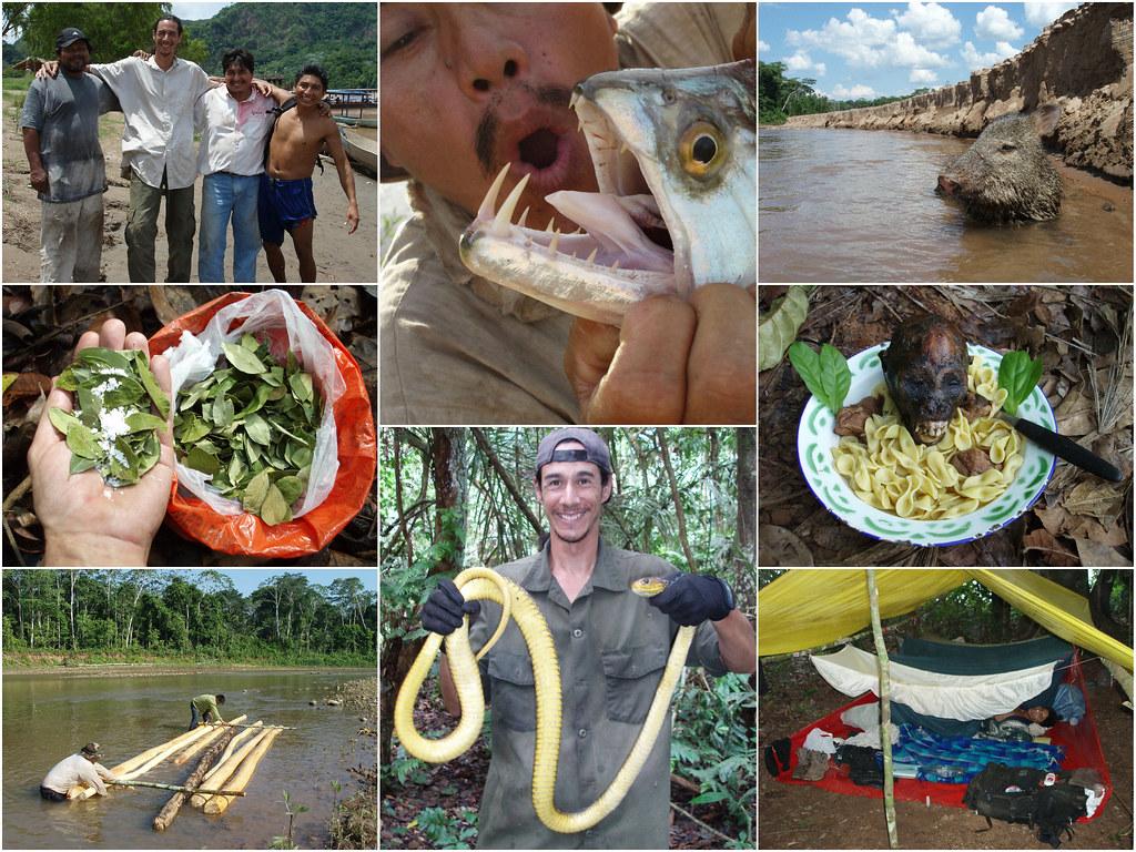 Amazon Trek: Bolivia, 201 pictures