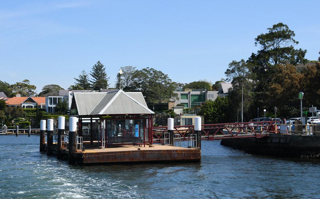 Woolwich Wharf, Woolwich, Sydney, NSW.