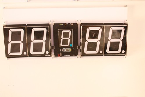 SCORE5 Arduino based Digital Scoreboard with Common anode Seven segments display (2)
