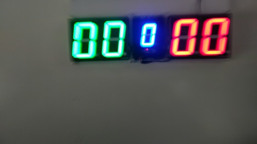 SCORE5 Arduino based Digital Scoreboard with Common anode Seven segments display (18)