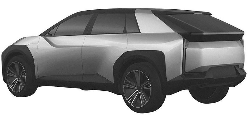 toyota-crossover-design-trademark-three-quarters-rear