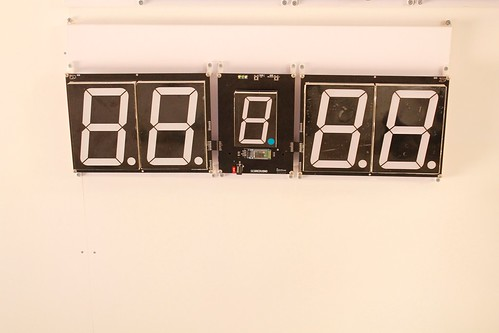 SCORE5 Arduino based Digital Scoreboard with Common anode Seven segments display (3)