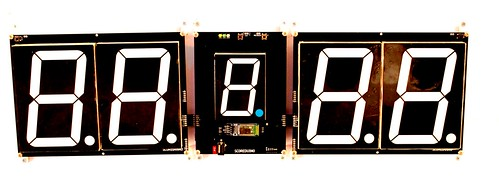 SCORE5 Arduino based Digital Scoreboard with Common anode Seven segments display (1)