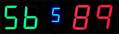 SCORE5 Arduino based Digital Scoreboard with Common anode Seven segments display (28)