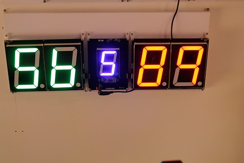 SCORE5 Arduino based Digital Scoreboard with Common anode Seven segments display (4)