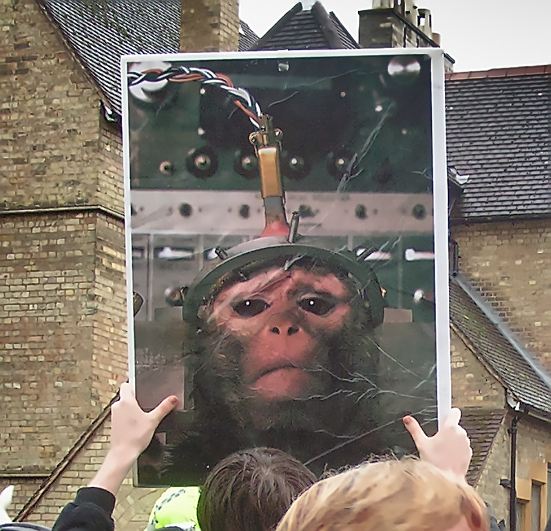 SPEAK Protest Oxford