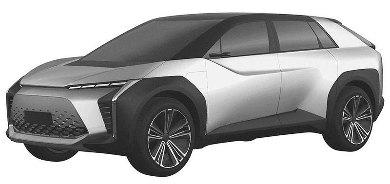 toyota-crossover-design-trademark-three-quarters-front