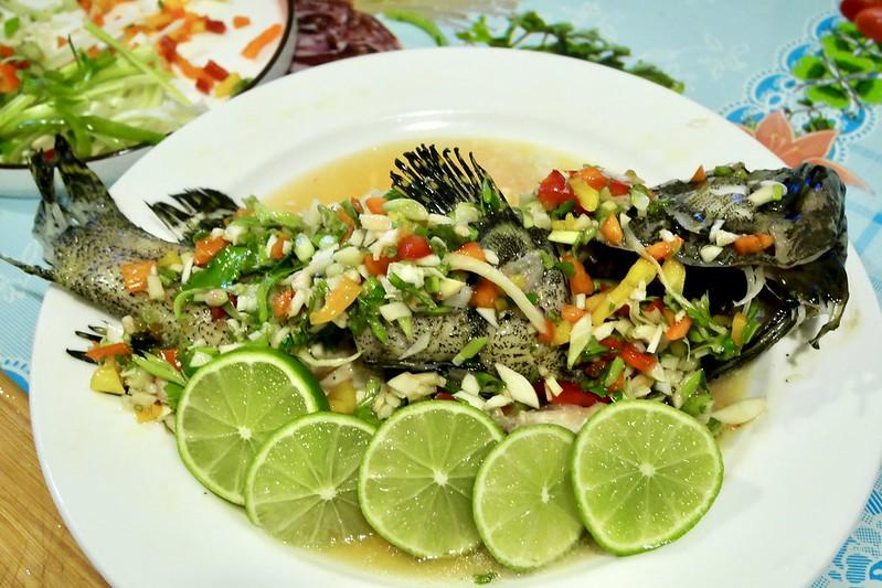 泰式蒸檸檬魚