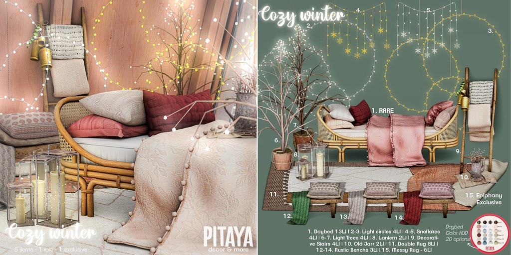 Pitaya – Cozy Winter @ Epiphany