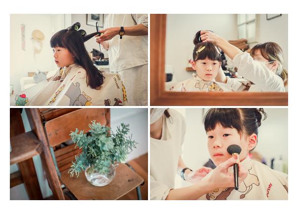 美容室 Sora(ソラ)で七五三のヘアメイク 名古屋市千種区