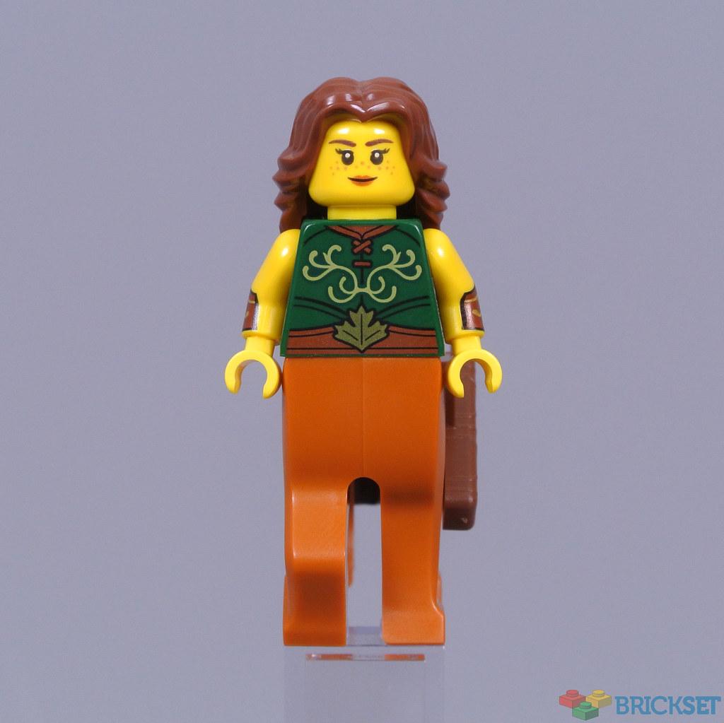 LEGO Tan Adventurers Side Pouch Minifigure Torso Body Part