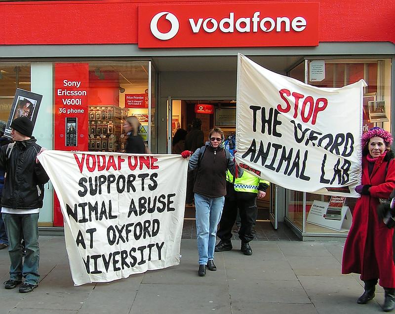 SPEAK Protest: Boycott Vodaphone