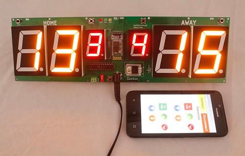 Arduino based digital Scoreboard  (483)