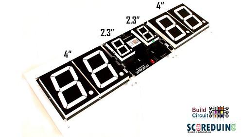 Arduino based digital Scoreboard  (473)