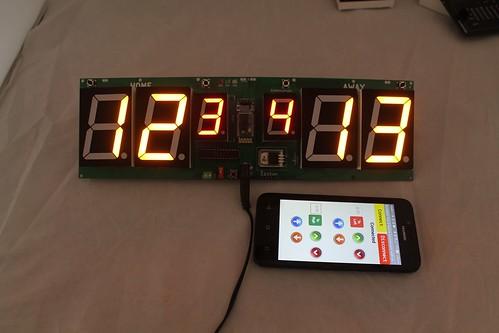 Arduino based digital Scoreboard  (462)