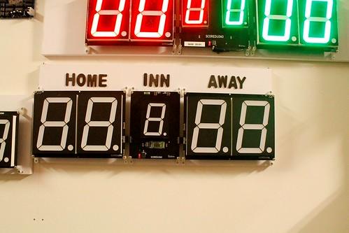 Arduino based digital Scoreboard  (452)