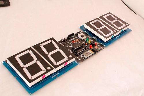 Arduino based digital Scoreboard  (433)
