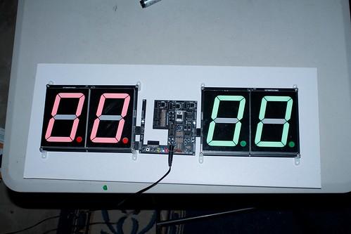 Arduino based digital Scoreboard  (406)