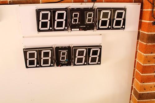 Arduino based digital Scoreboard  (396)
