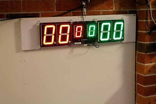 Arduino based digital Scoreboard  (392)