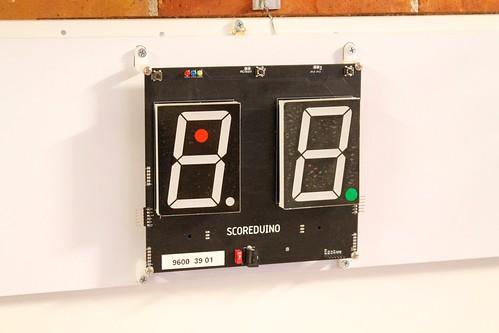 Arduino based digital Scoreboard  (391)