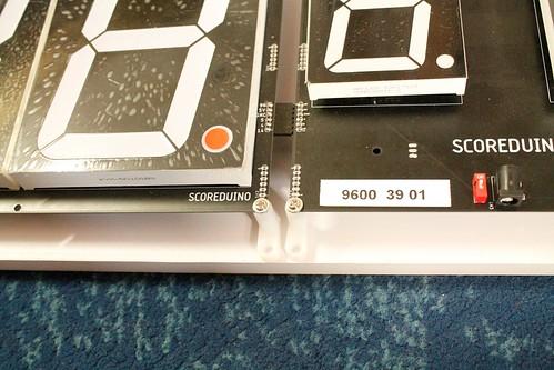 Arduino based digital Scoreboard  (381)