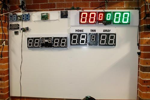 Arduino based digital Scoreboard  (371)