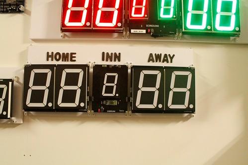 Arduino based digital Scoreboard  (369)