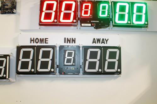 Arduino based digital Scoreboard  (368)