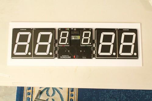Arduino based digital Scoreboard  (356)