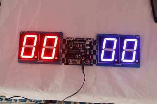 Arduino based digital Scoreboard  (345)