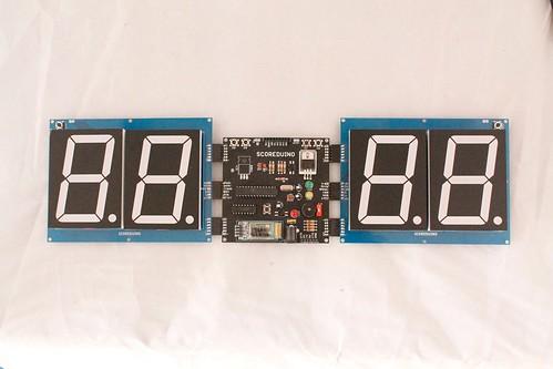 Arduino based digital Scoreboard  (344)