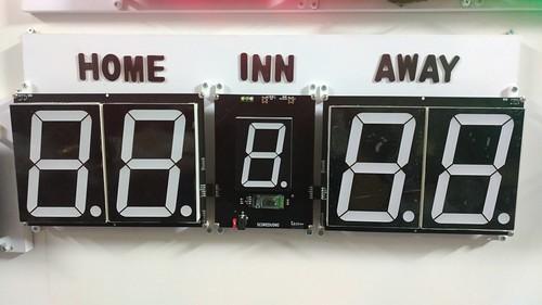 Arduino based digital Scoreboard  (317)