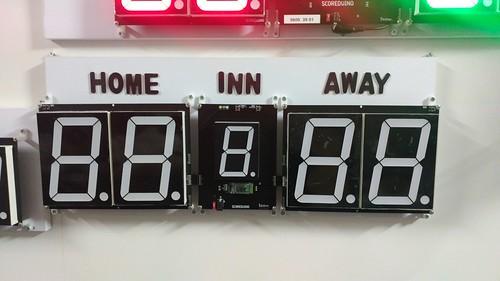 Arduino based digital Scoreboard  (315)