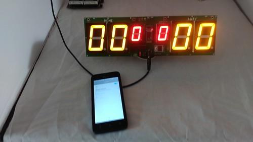 Arduino based digital Scoreboard  (309)