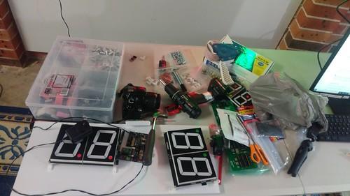 Arduino based digital Scoreboard  (304)