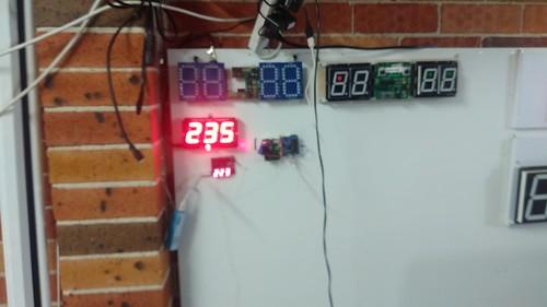 Arduino based digital Scoreboard  (301)