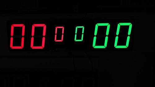 Arduino based digital Scoreboard  (298)