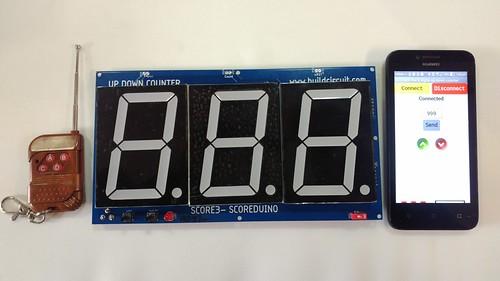Arduino based digital Scoreboard  (249)