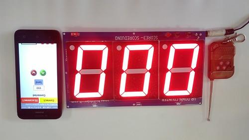 Arduino based digital Scoreboard  (247)