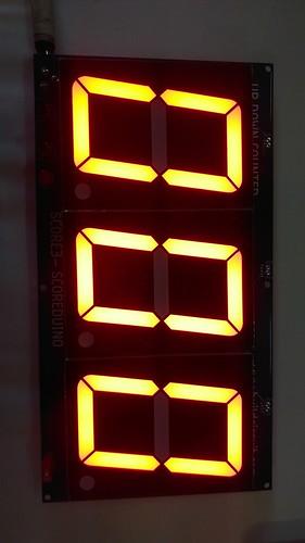 Arduino based digital Scoreboard  (245)