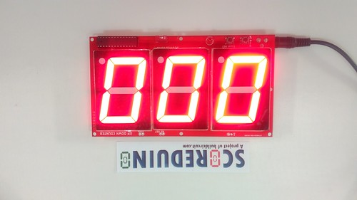 Arduino based digital Scoreboard  (236)
