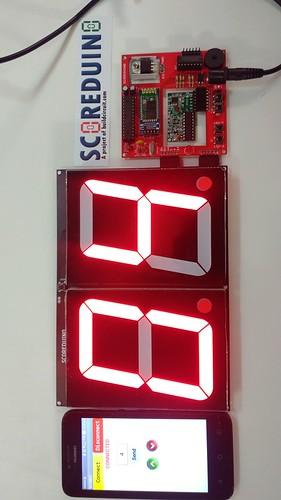 Arduino based digital Scoreboard  (226)