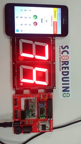 Arduino based digital Scoreboard  (225)