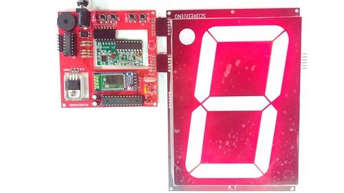 Arduino based digital Scoreboard  (219)