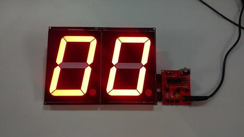 Arduino based digital Scoreboard  (203)