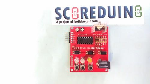 Arduino based digital Scoreboard  (194)