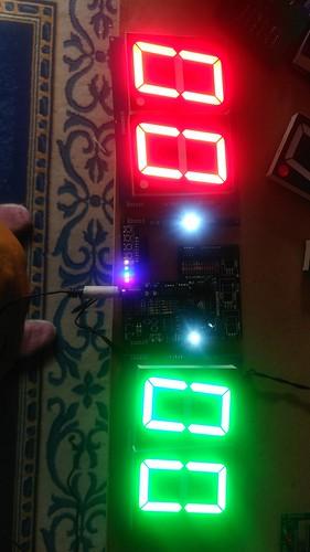 Arduino based digital Scoreboard  (168)