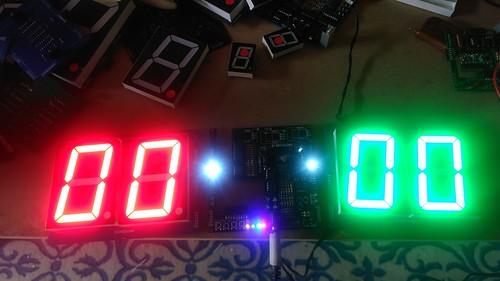 Arduino based digital Scoreboard  (166)