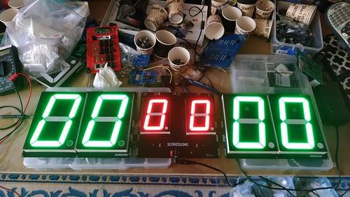 Arduino based digital Scoreboard  (152)